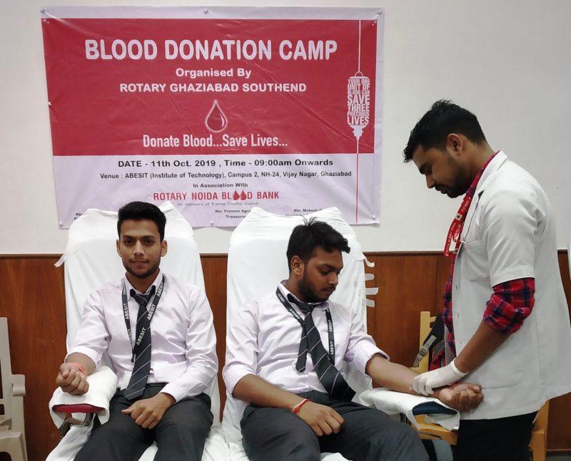 ABESIT Blood Donation Rotary Ghaziabad